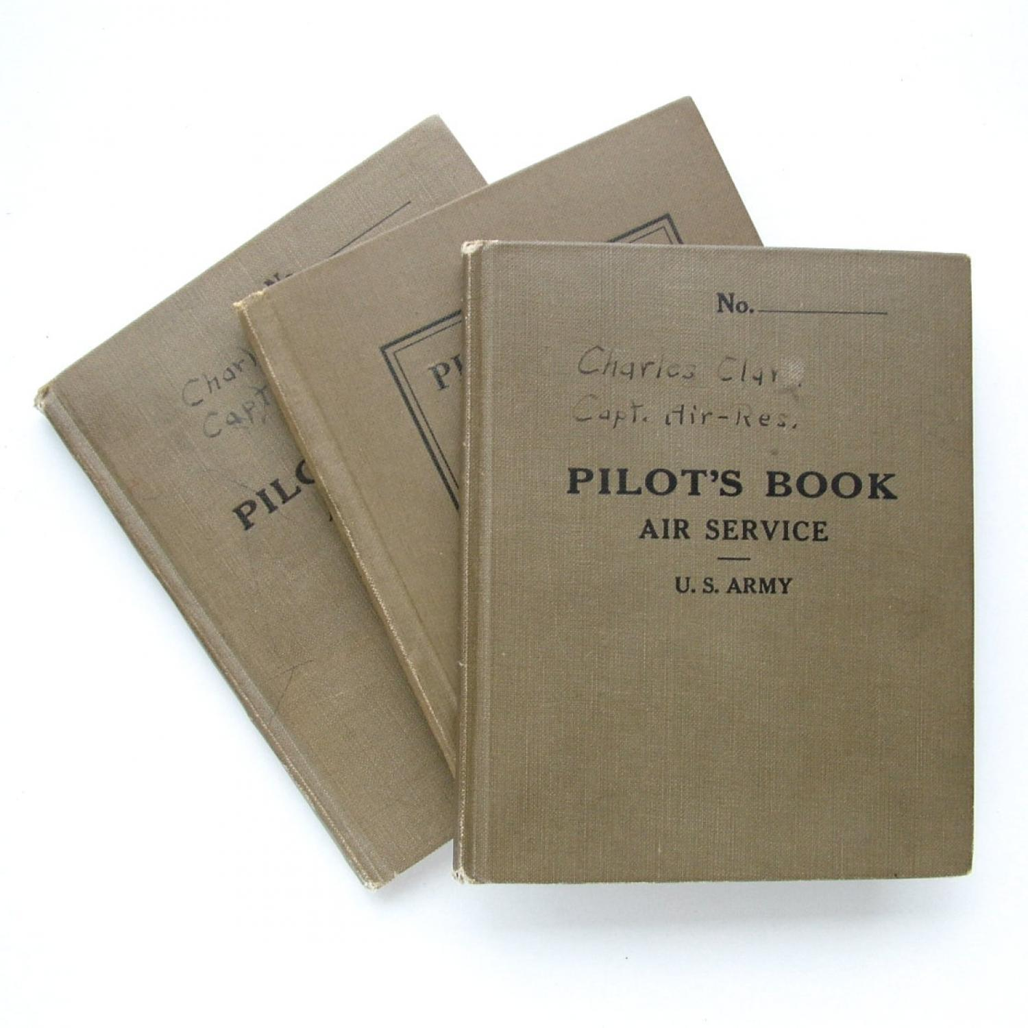 USAAC Flying Log Books