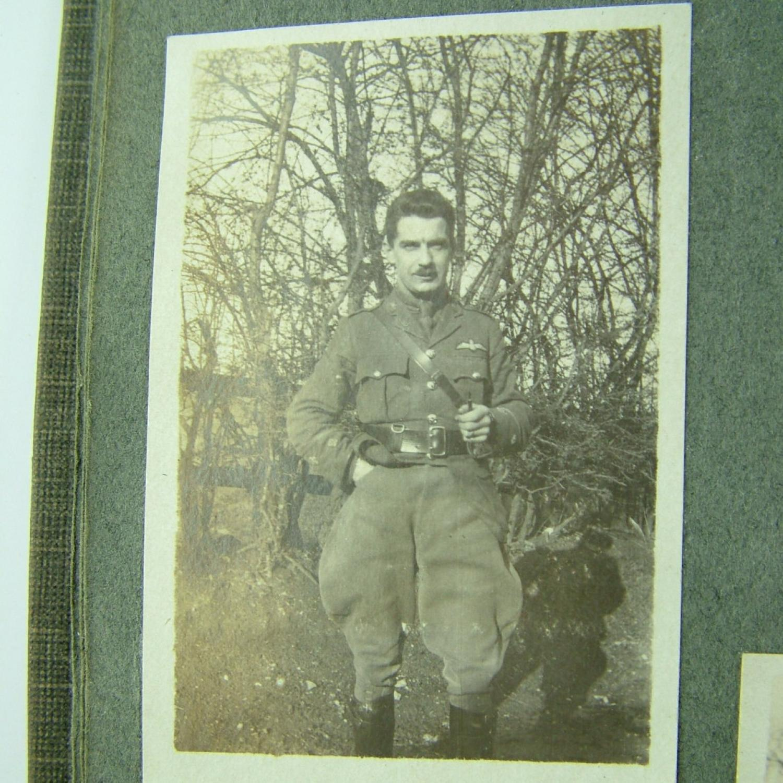 WW1 Photograph Album, RFC Interest