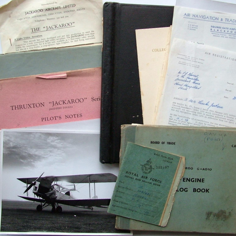 Pilot's Notes/Manuals : DH/Thruxton Jackaroo