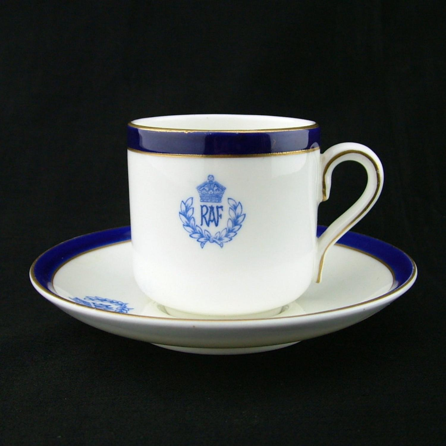 RAF Mess Coffee Cup & Saucer