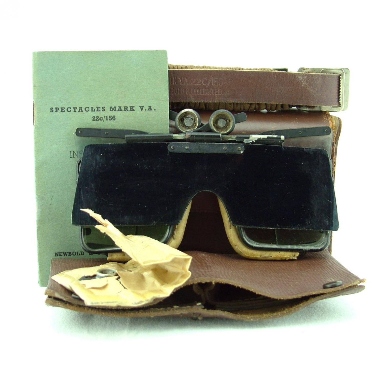 RAF Spectacles, Flying, MK.VA Cased