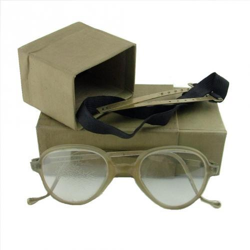 RAF MK.IX Flying Spectacles, Cased