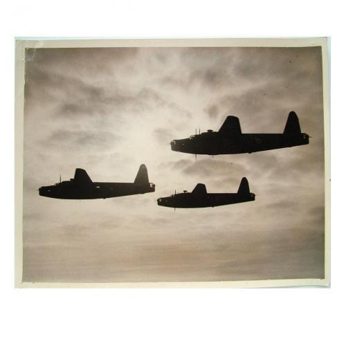 Press Photo - RAF Wellington Bombers