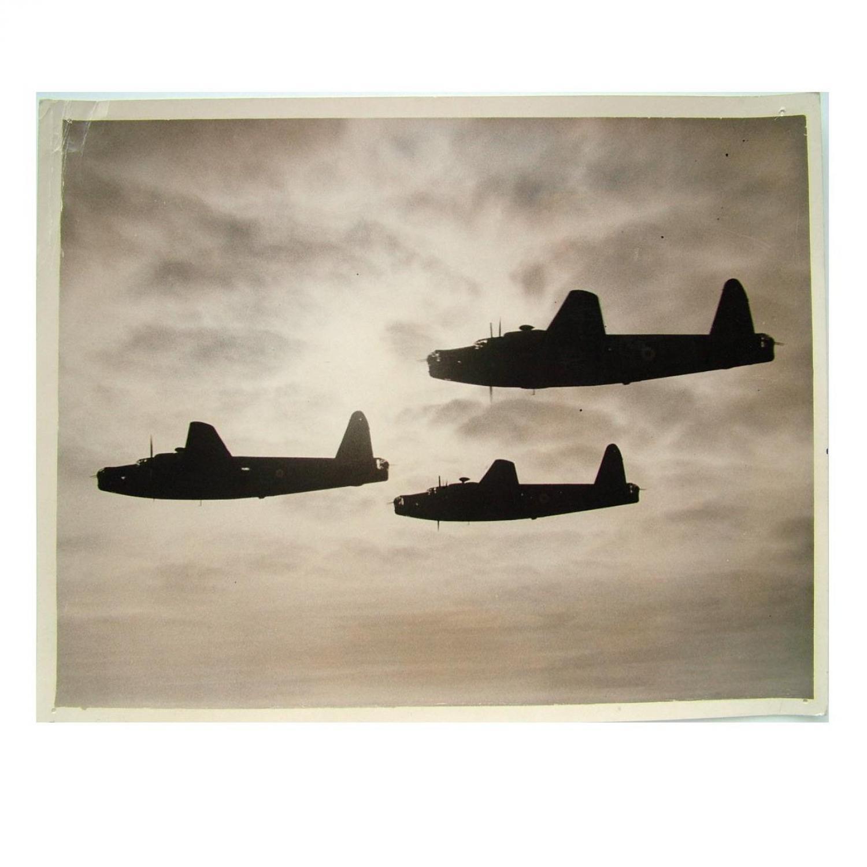 Press Photo - RAF Wellington Bombers