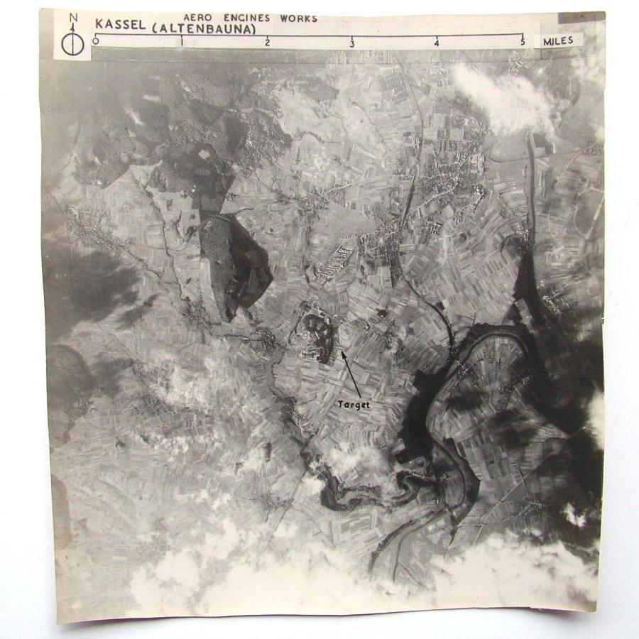 USAAF 91st Bomb Group Target Photo #1