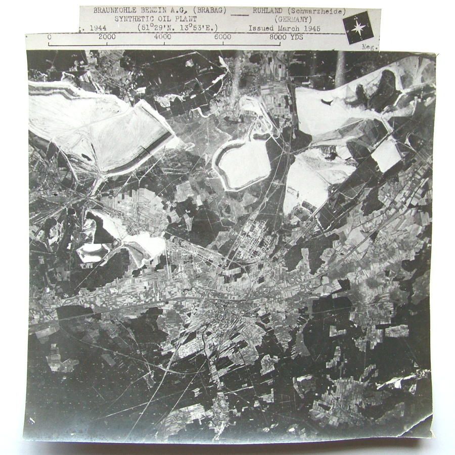USAAF 91st Bomb Group Target Photo #4