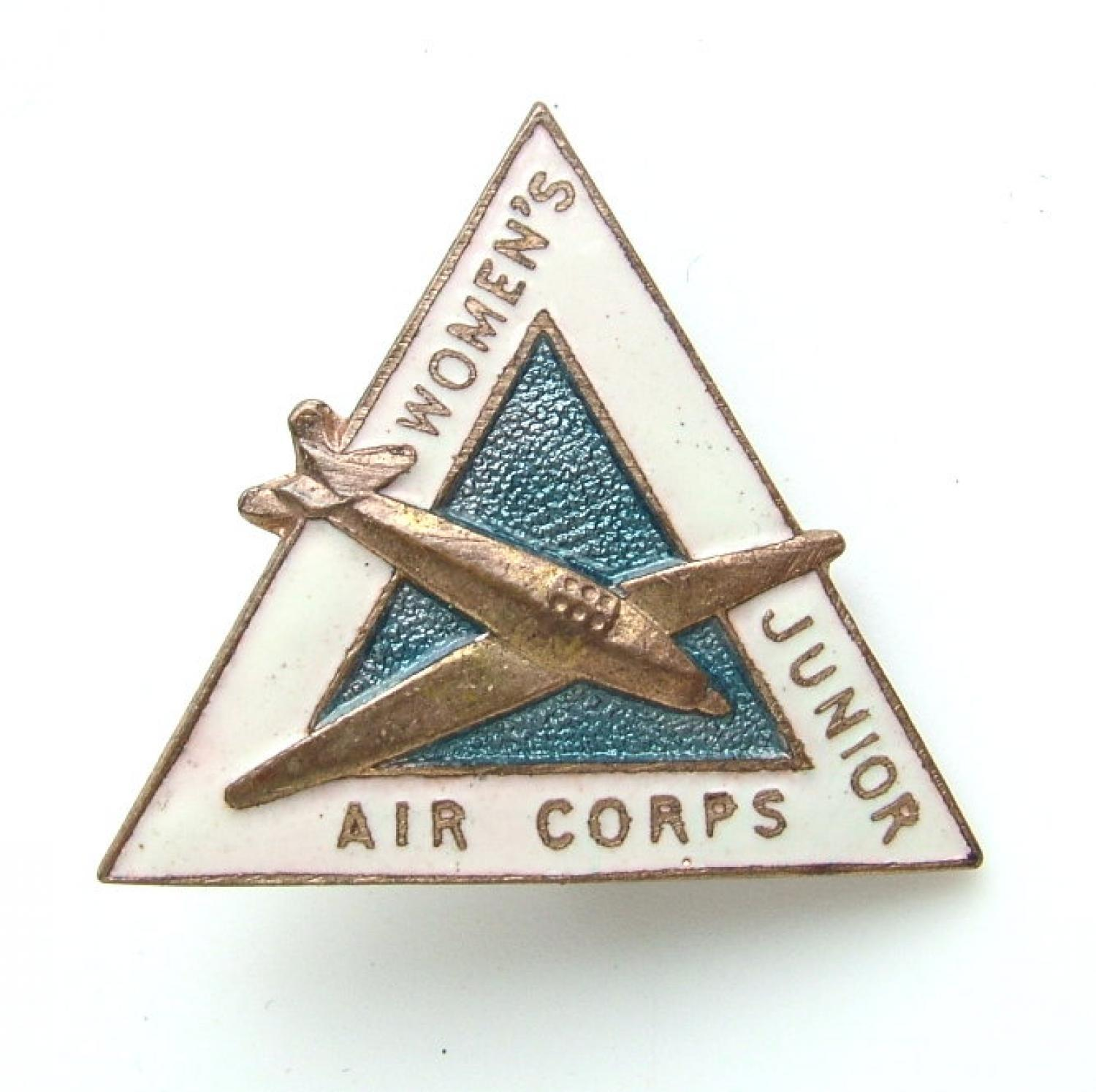 Womens Junior Air Corps badge