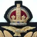 RAF Officer Rank Service Dress Cap Badge - picture 2