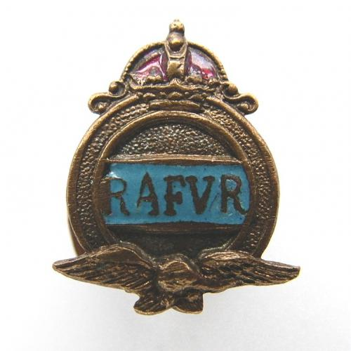 RAFVR Lapel Badge