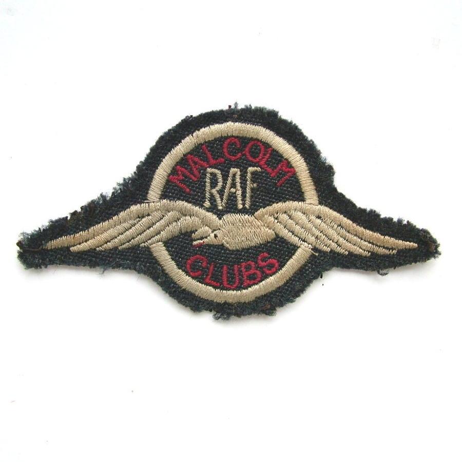 RAF Malcolm Club Cap Badge
