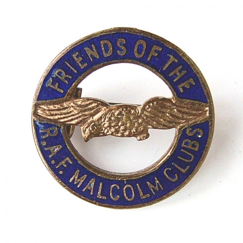 Friends of RAF Malcolm Club Badge