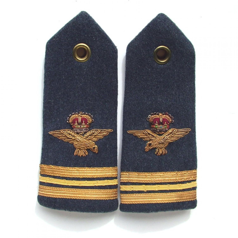 RAF Wing Comander epaulettes