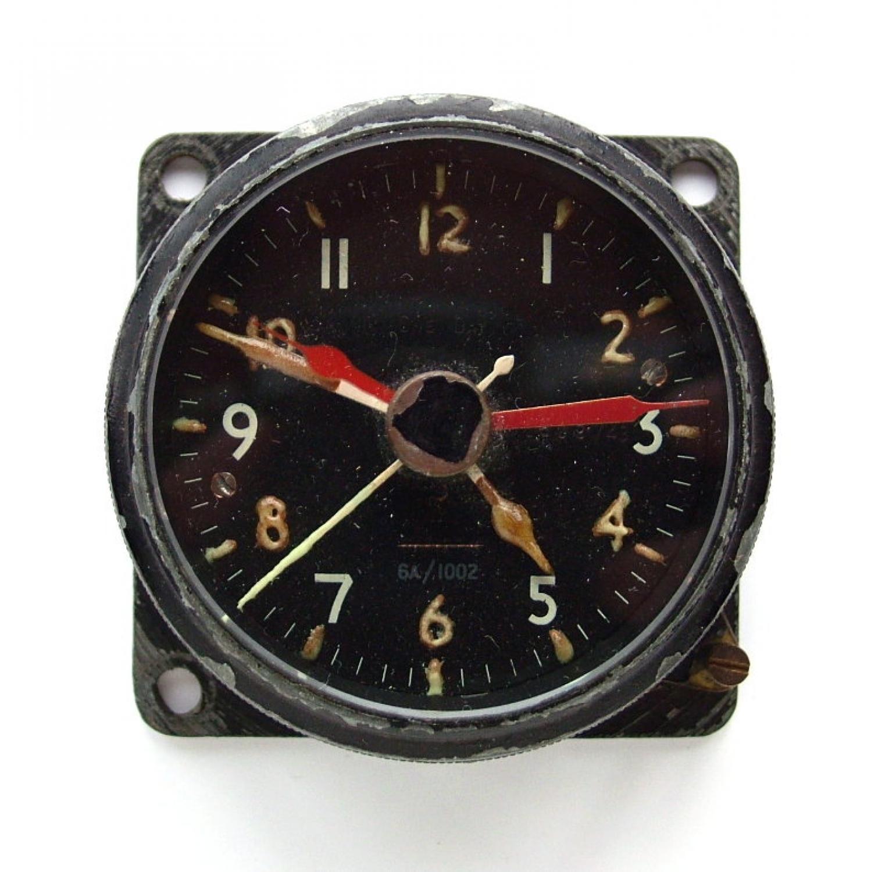 RAF / AM MK.IIA aircraft cockpit clock