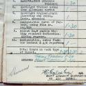 SAAF Navigator's flying log book - picture 9