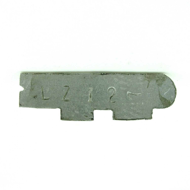 Zeppelin souvenir brooch