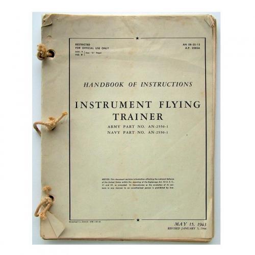 USAAF / RAF Link trainer handbook