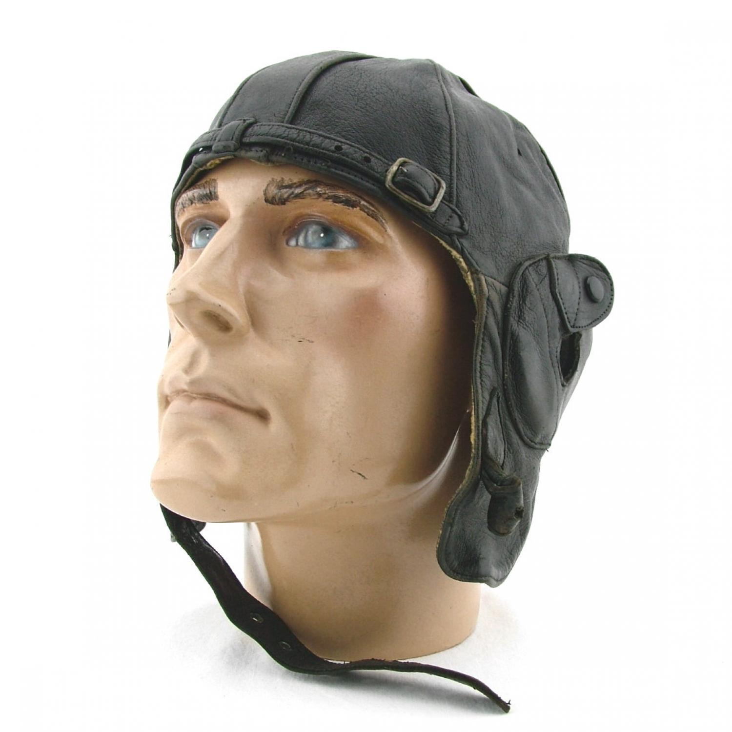 1930s private purchase Lewis flying helmet