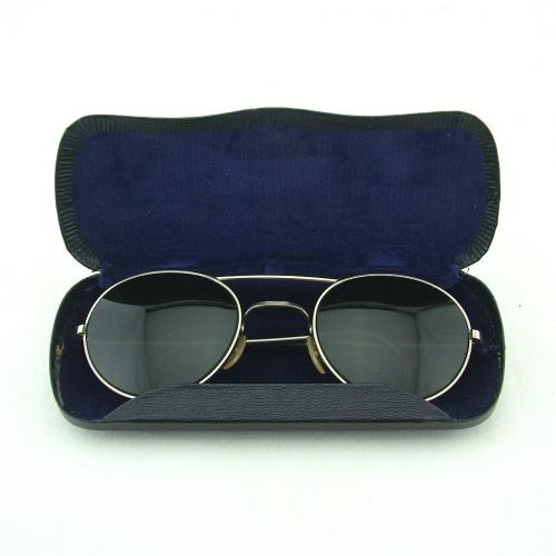 RAF sunglasses, type G, cased