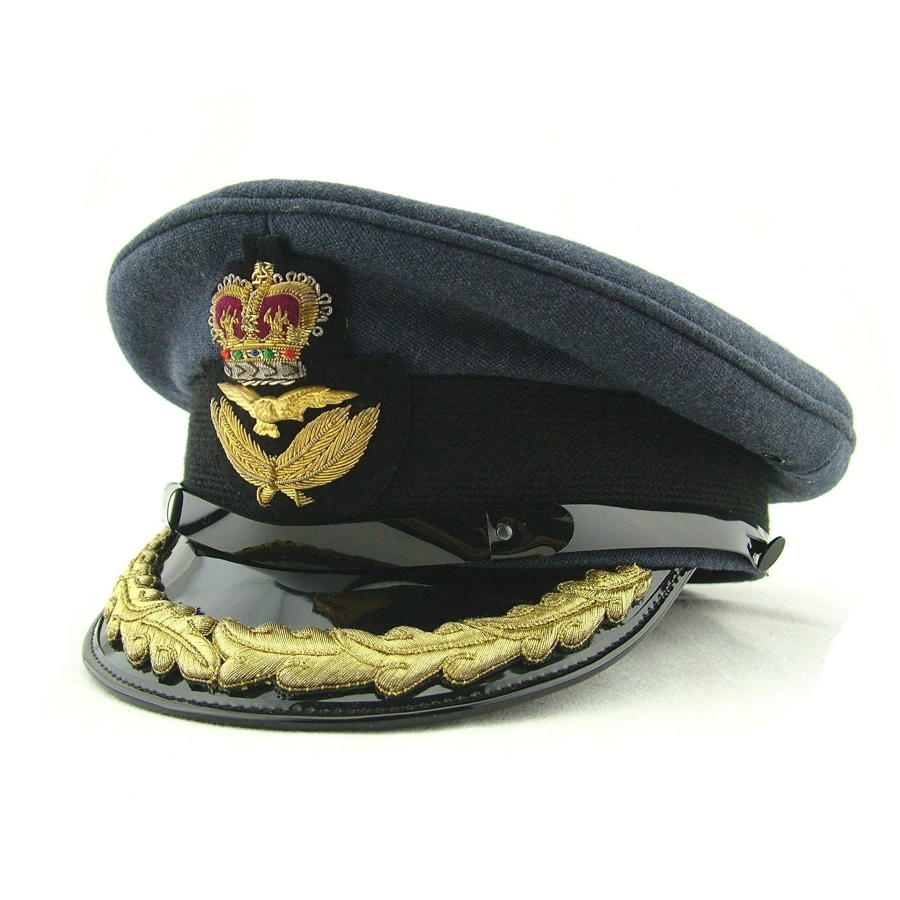 RAF Group Captain rank service dress cap