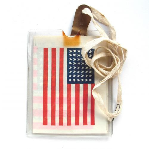 USAAF blood chit / pouch