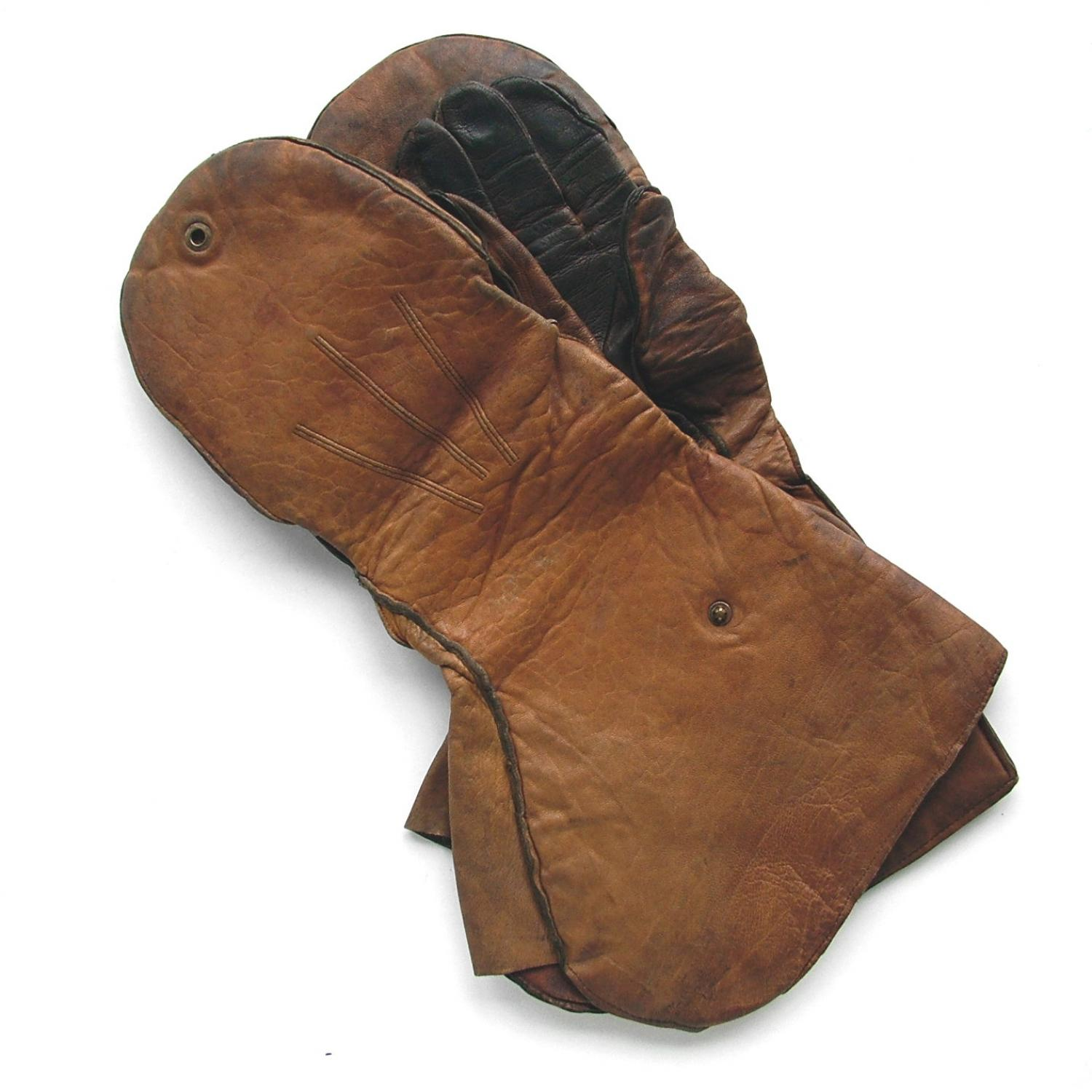 WW1 RFC flying combination gauntlets
