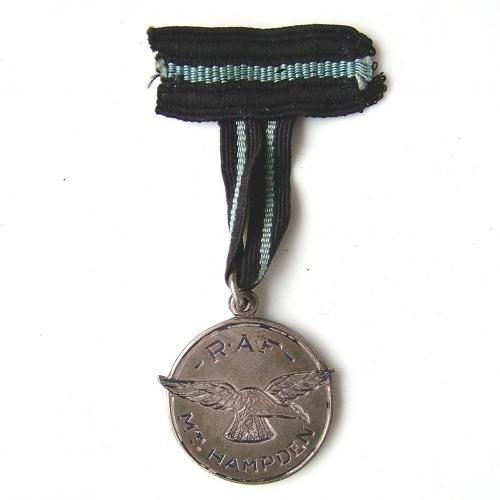 RAF 'best cadet' medallion