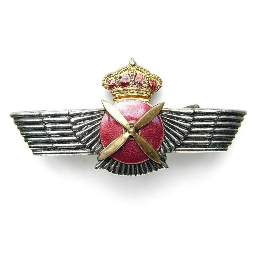 Spanish pilot wing
