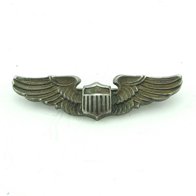 USAAF pilot wing sweetheart