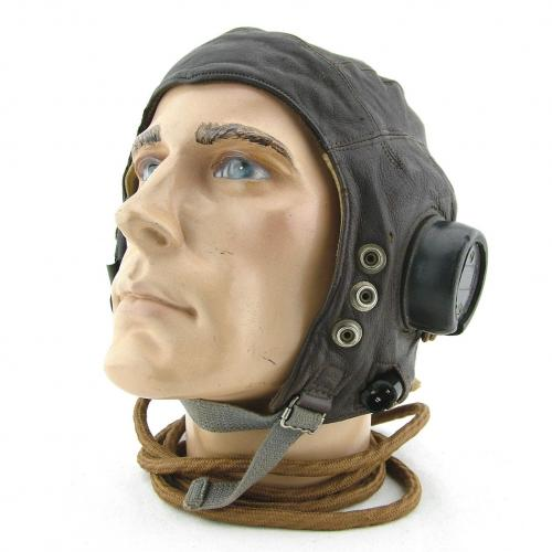 RAF C-type flying helmet, 1st late pattern