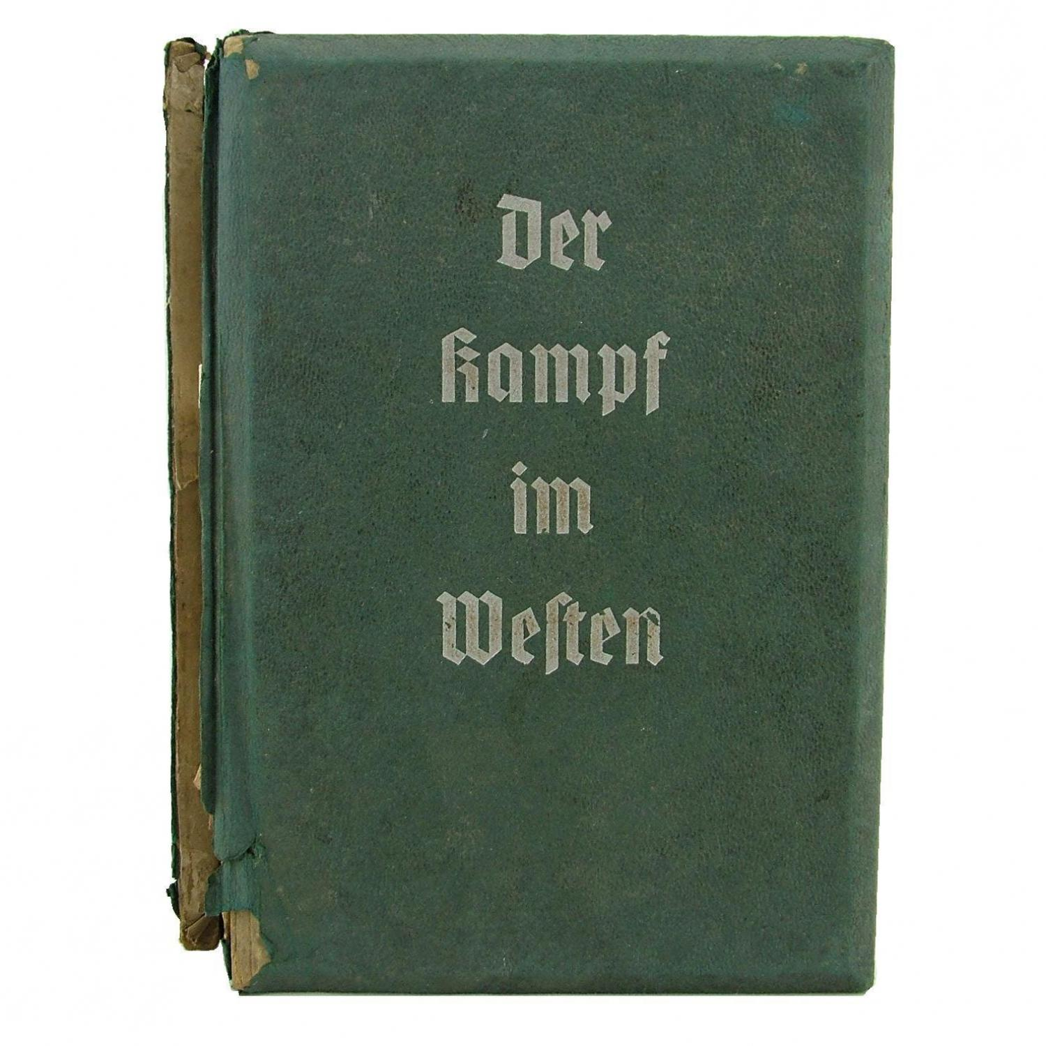 German stereoscopic photo book, 1940