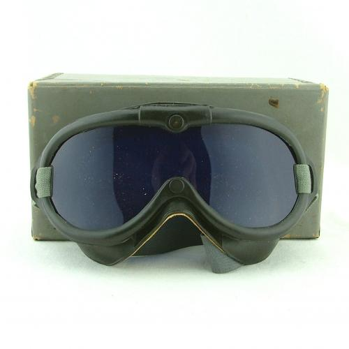 USN blind flying goggles, boxed