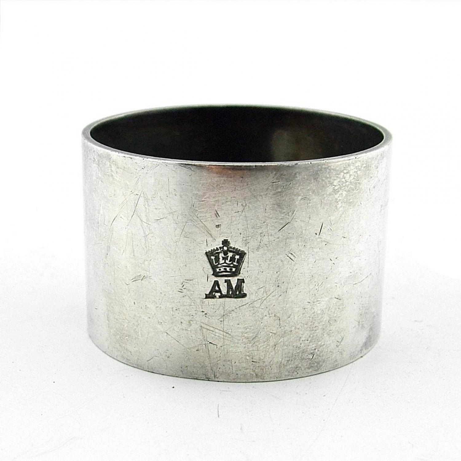 Air Ministry napkin rings