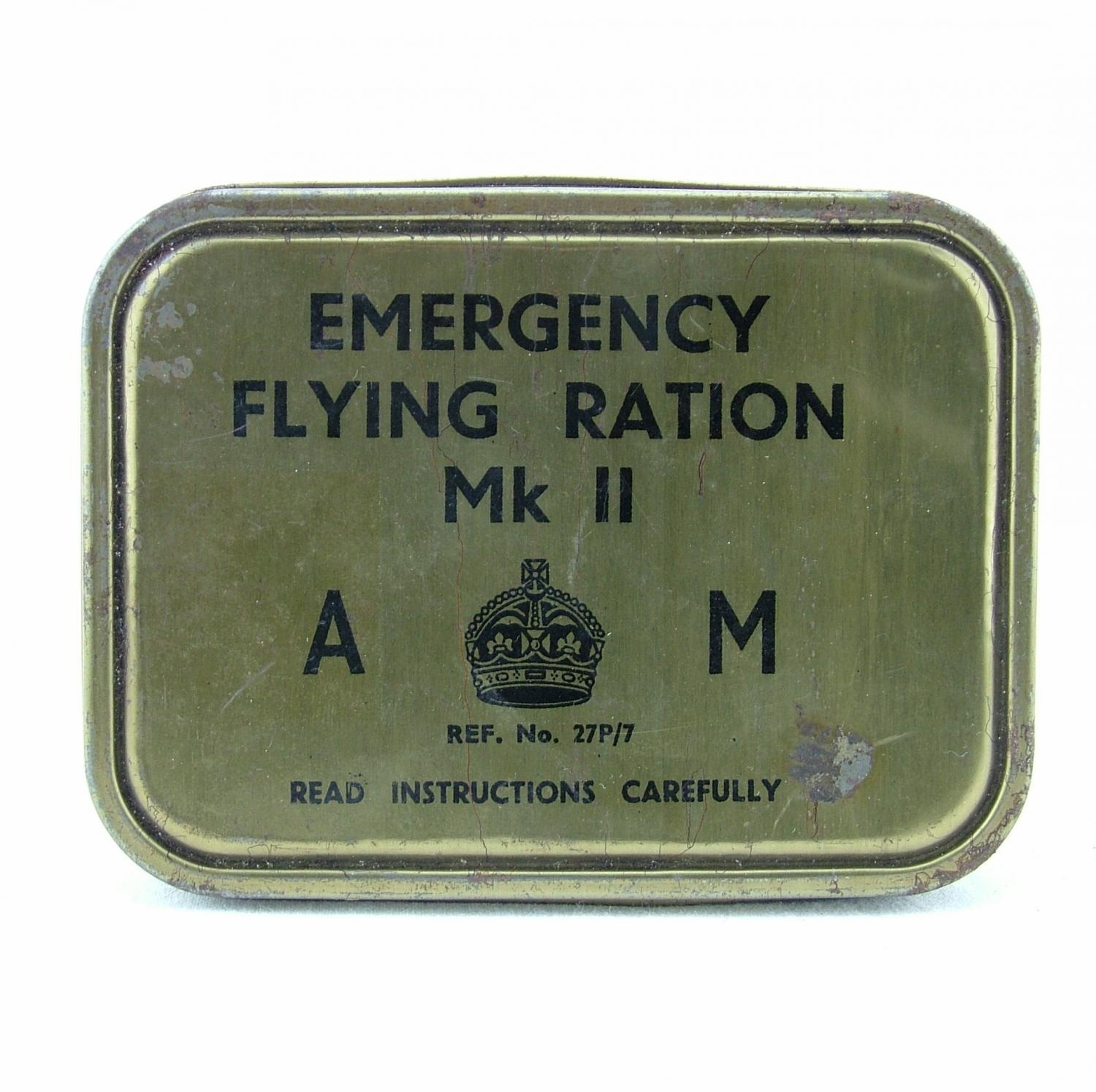Air Ministry emergency flying ration