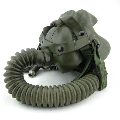 USAF type A-14B oxygen mask/bag