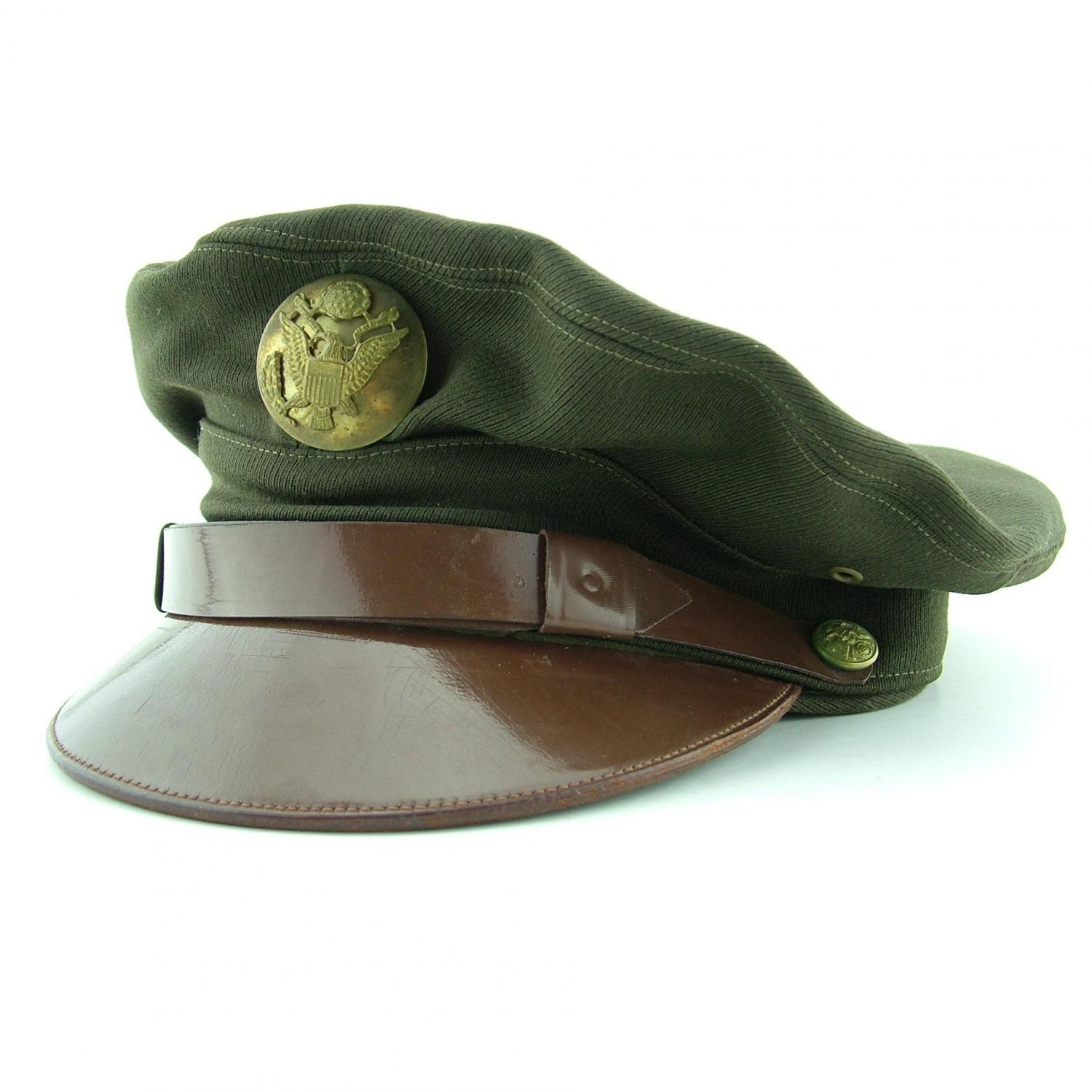 USAAF enlisted man's visor cap