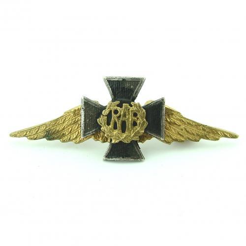RAF chaplain's collar badge