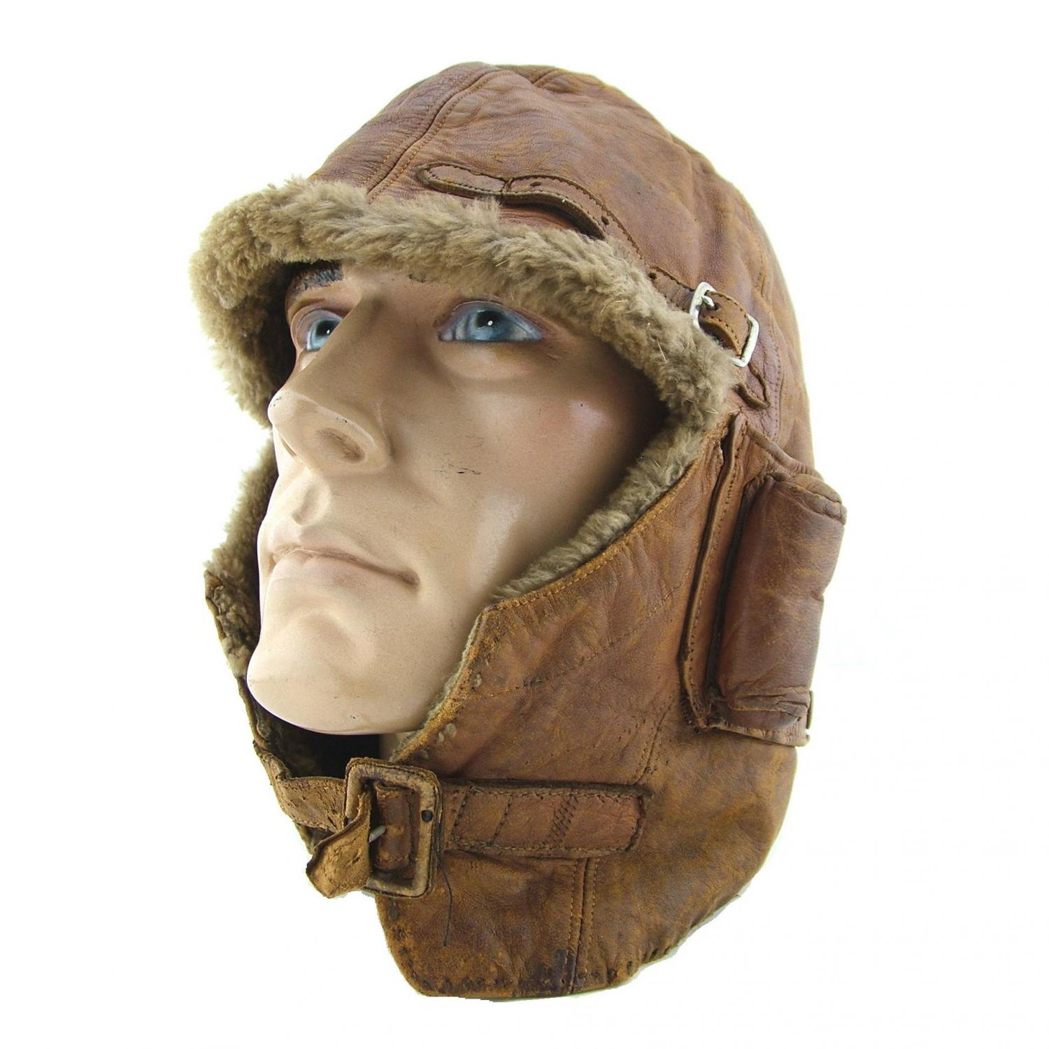 RFC 'Cowl' flying helmet