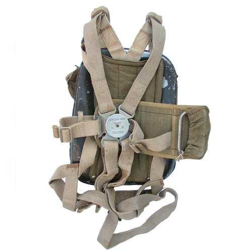 Luftwaffe back-type parachute