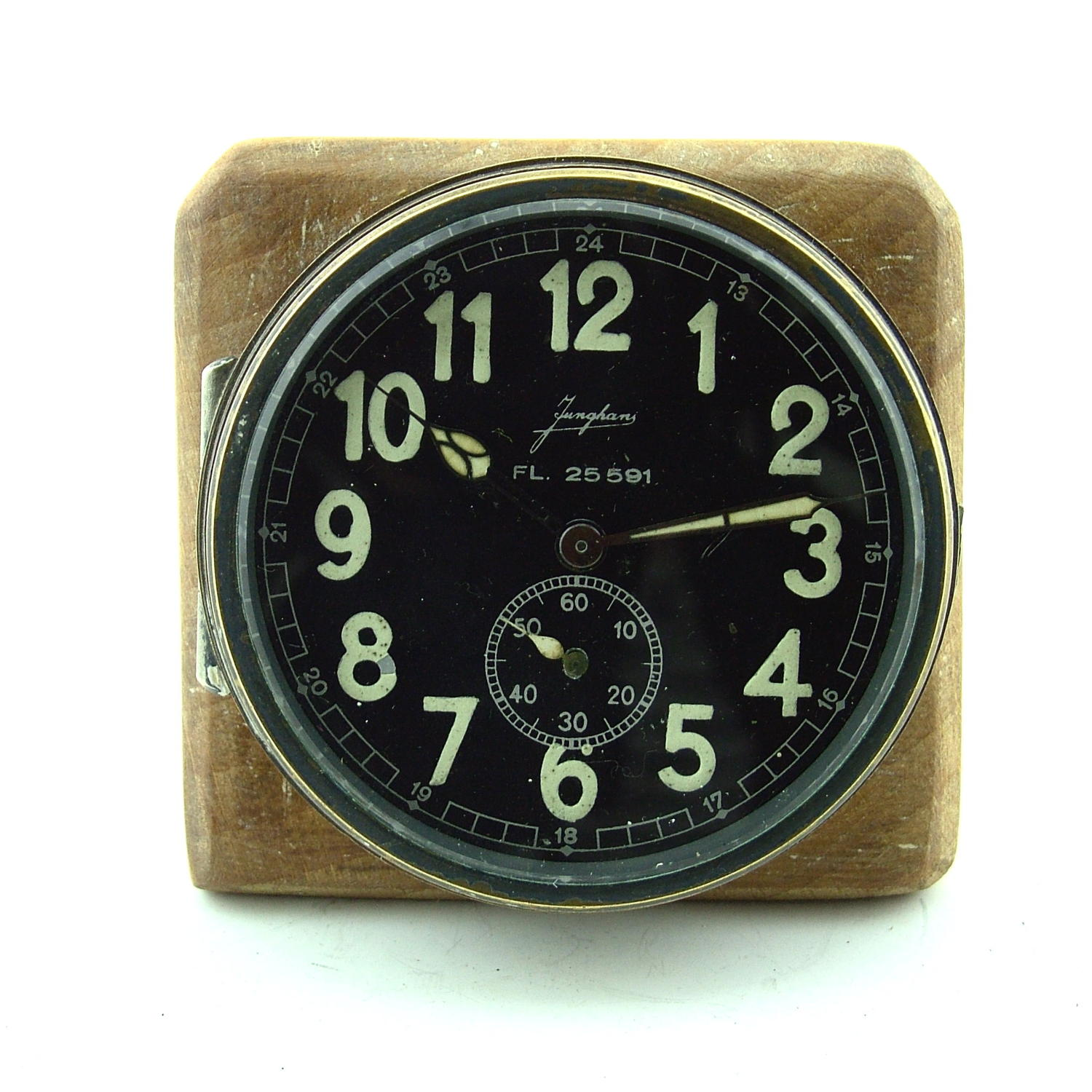 Luftwaffe aircraft cockpit clock