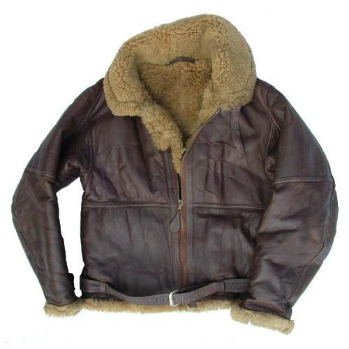 RAF Irvin flying jacket