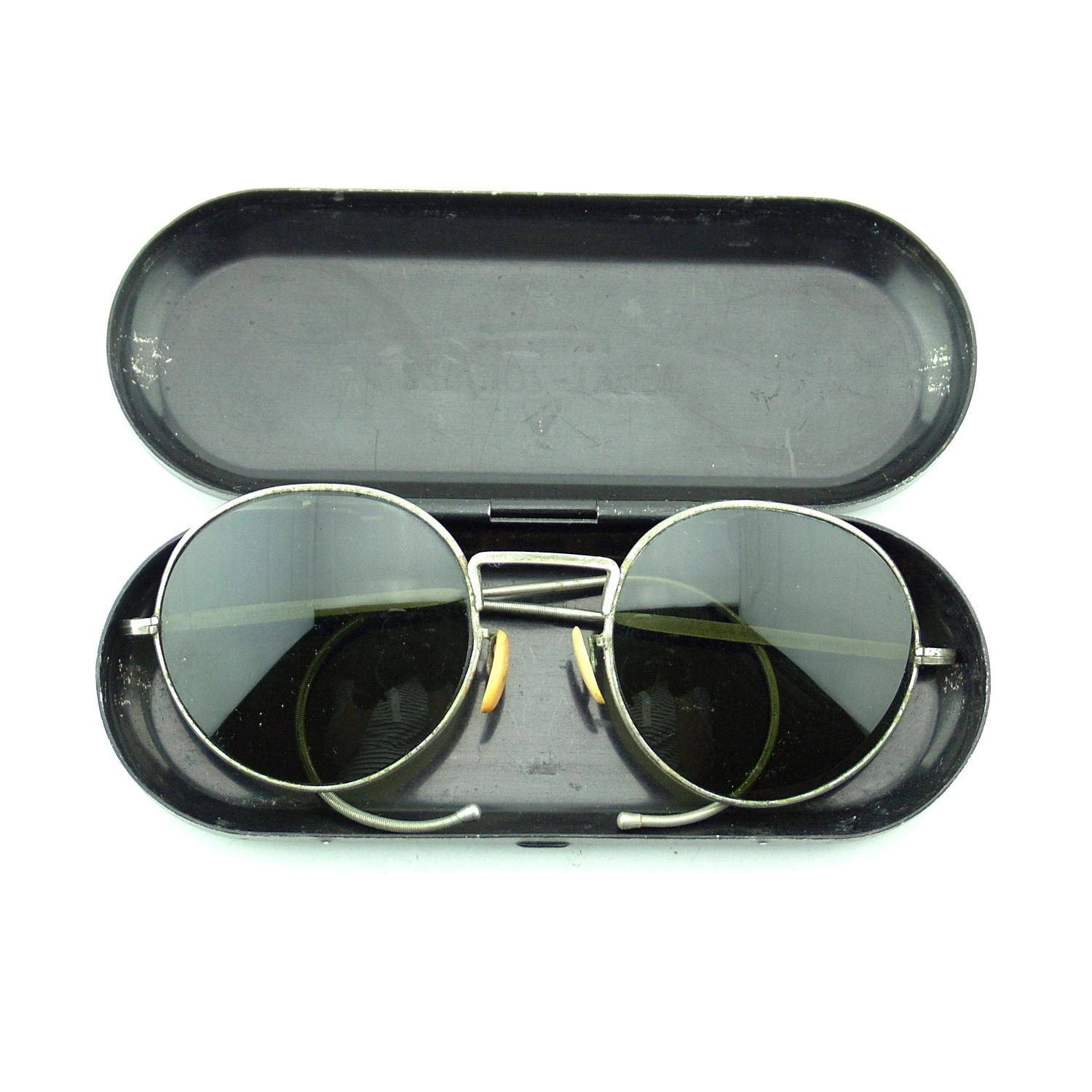 RAF sunglasses, type F, cased