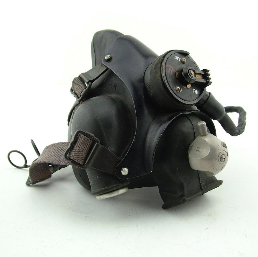 RAF type M oxygen mask