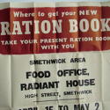 WW2 Original ration book poster - picture 2