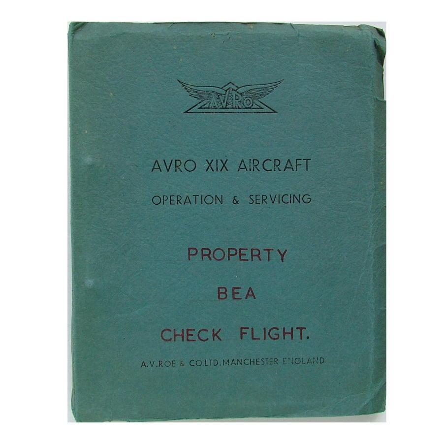 AVRO XIX operation & servicing manual