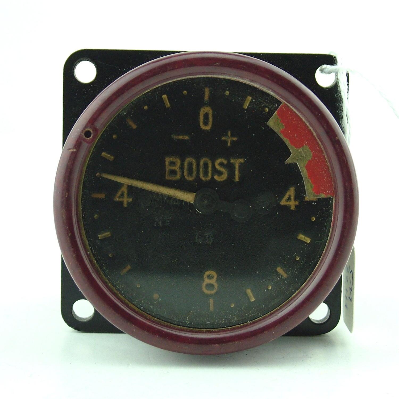 RAF Mk.IIIH aircraft boost gauge