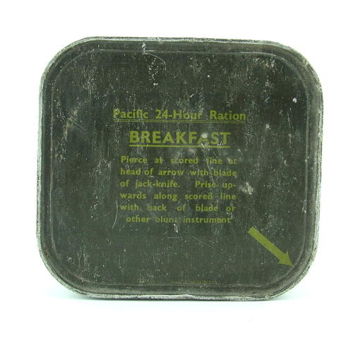 RAF 'used' Pacific 24-hour Ration