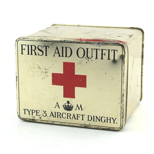 Air Ministry dinghy first aid outfit