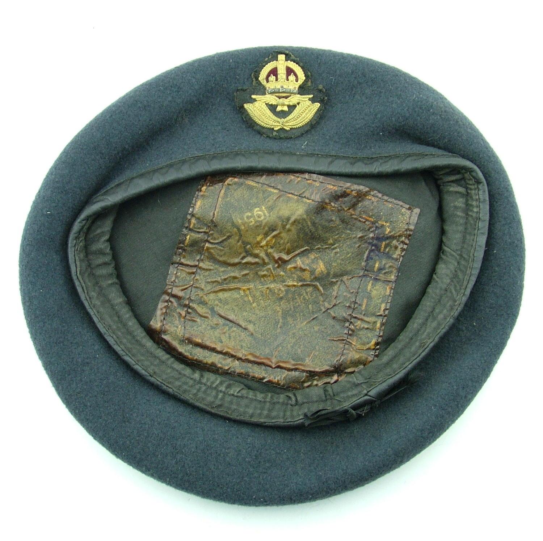 RAF officer rank beret
