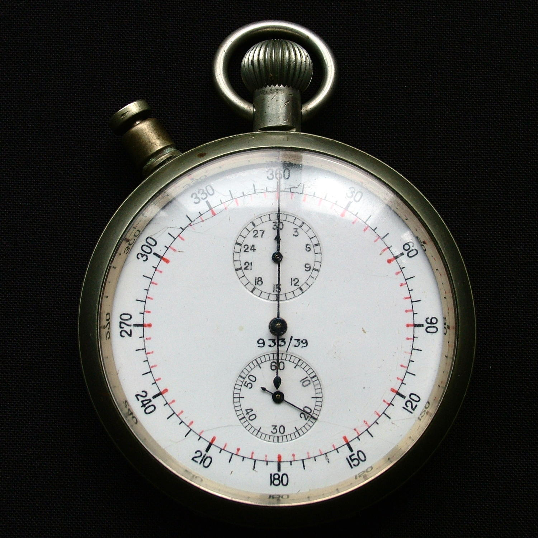 Air Ministry split second stopwatch