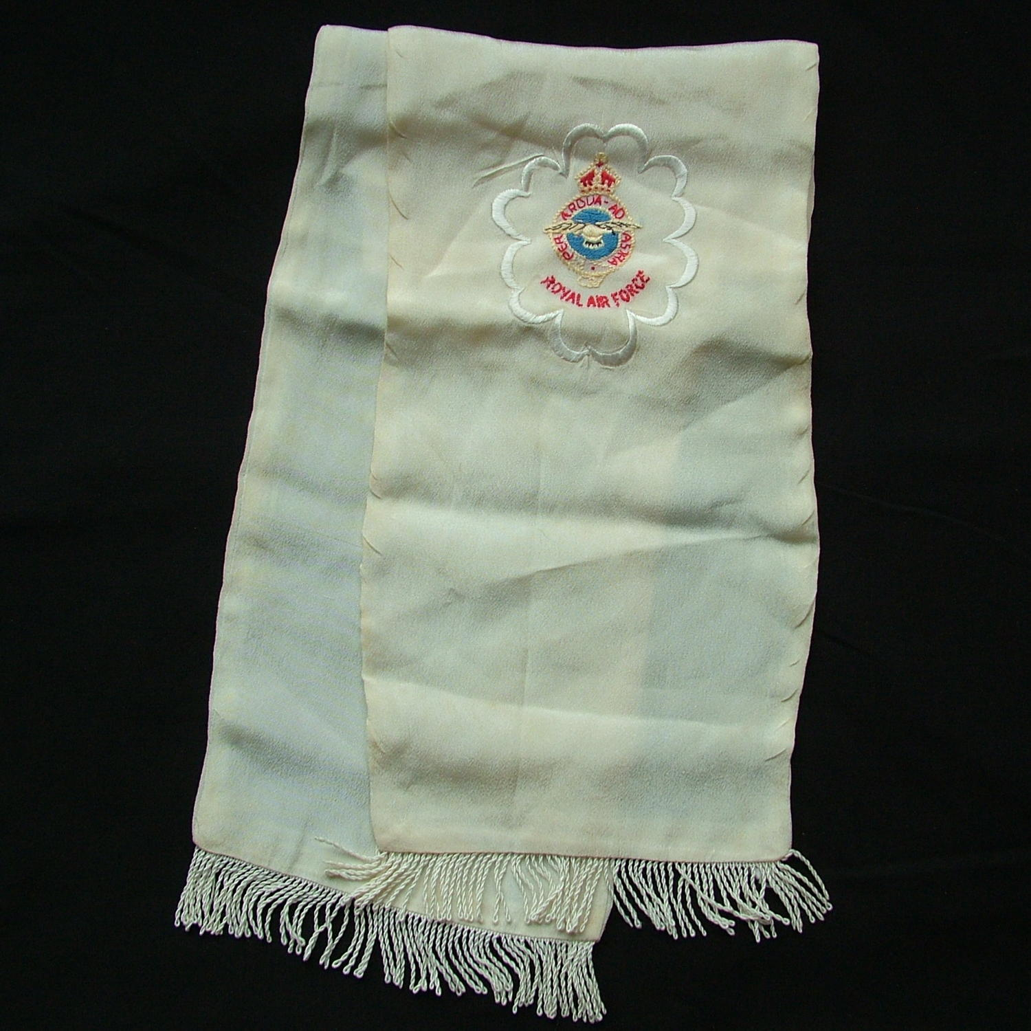 RAF fighter pilot 'type' scarf